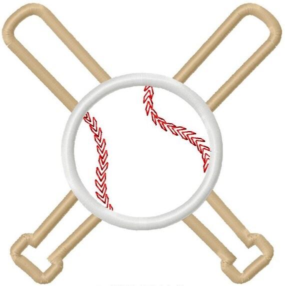 Digitizing Dolls Baseball and Bats Applique Machine Embroidery Design 4x4 5x5 6x6 Sports Softball INSTANT DOWNLOAD
