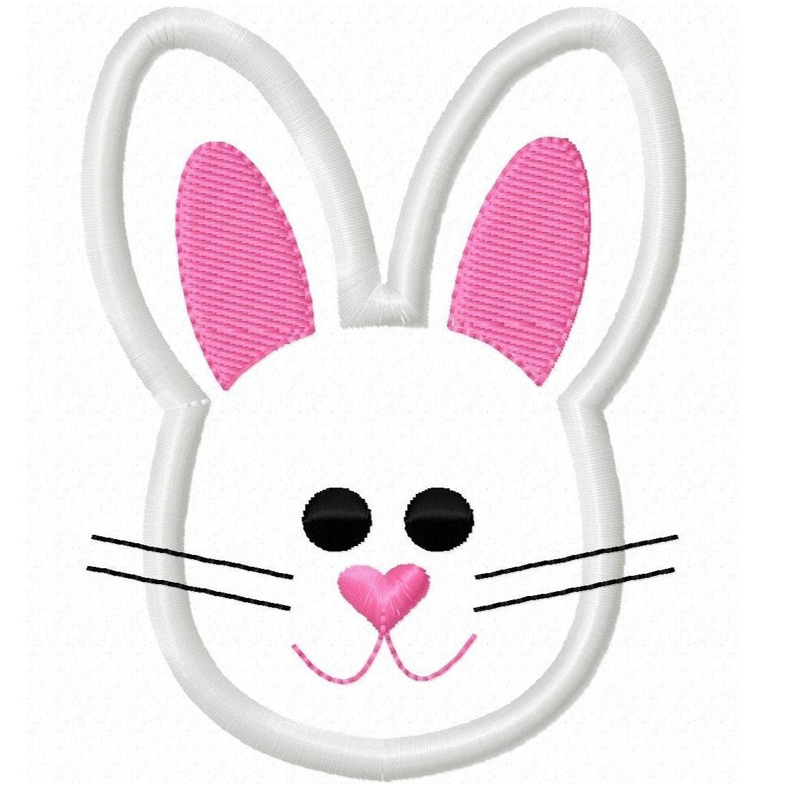 digitizing dolls easter bunny face head by digitizingdolls clipart for embroidery digitizing free clipart for digitizing embroidery