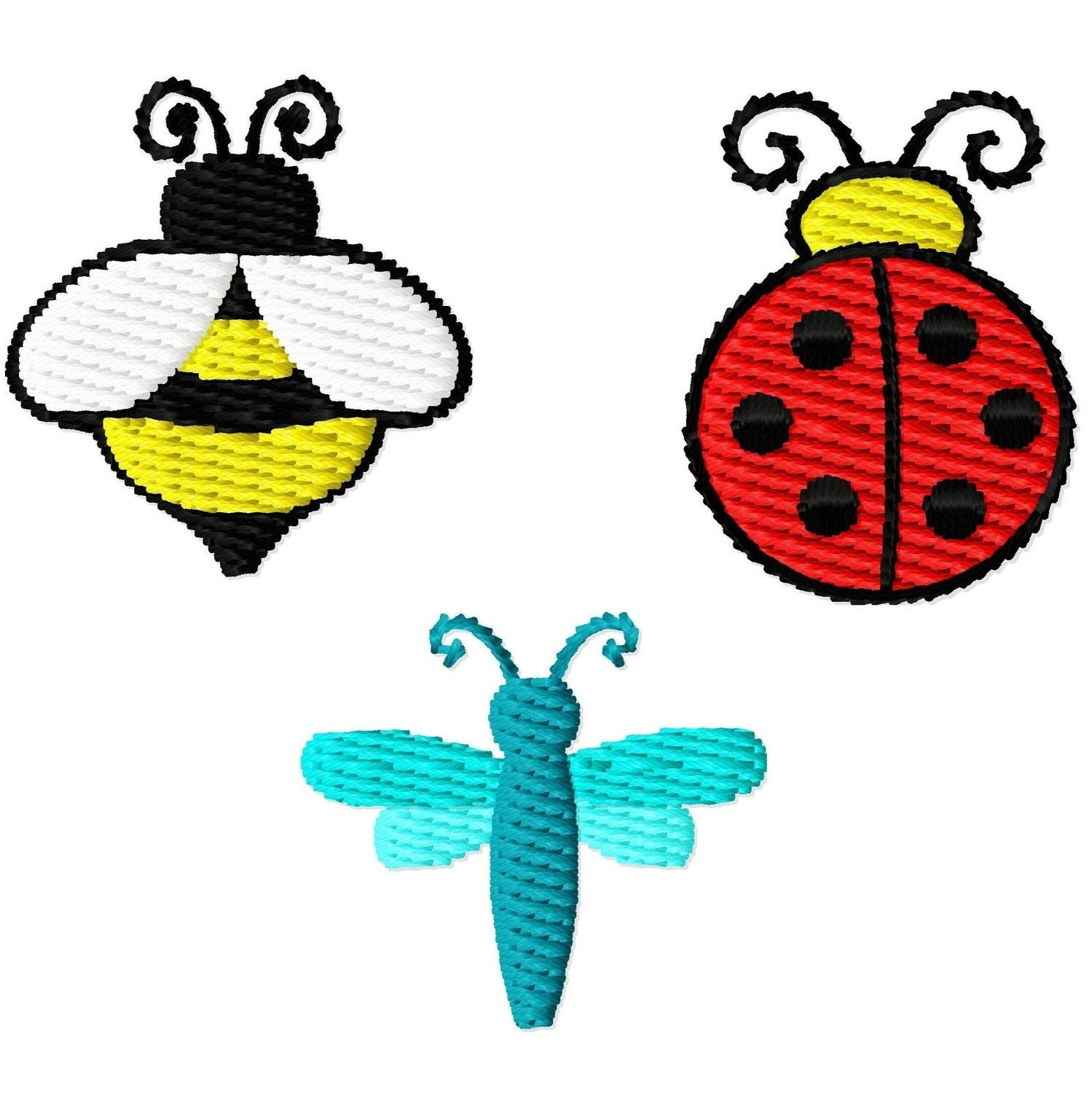 Bumble bee embroidery designs car pictures - Bumble Bee Embroidery Designs Machine Embroidery Designs Digitizing Dolls 1 Inch Mini Design Set Of 3 By