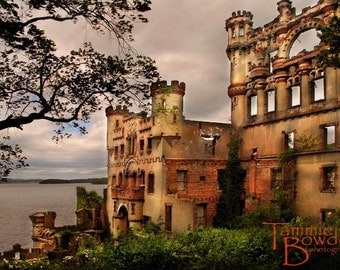 Bannerman's Castle - Original Photograph 8x10 - Fairy Tale Princess Island Abandoned Ruins