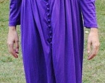 20% OFF SALE!!! Vintage Purple Gown