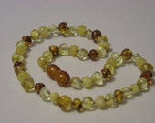 Light Mix Baltic Amber Teething Necklace