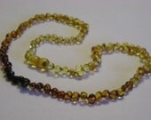 Adult Fading Baltic Amber Healing Necklace