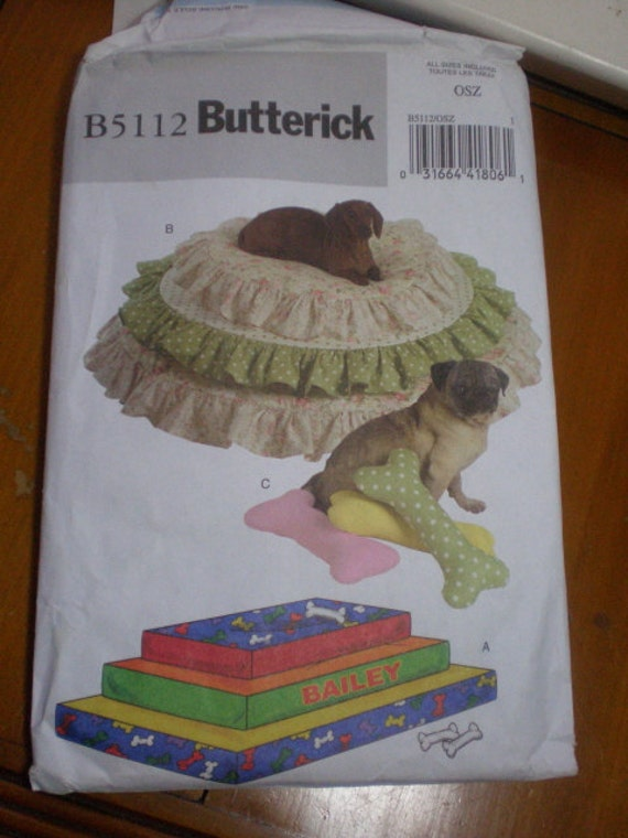 Pampered Pet Princess Pillow Pile, for Your utterly Spoiled Dog or Cat, Butterick Crafts Pattern