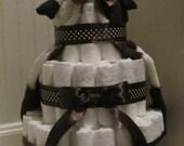Cow Baby Diaper Cake