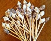 100 Seashell Toothpicks