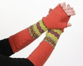 happy melon - wool arm warmers