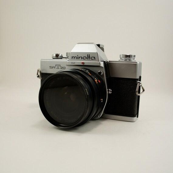 Minolta SR-T 201 35mm Film Camera