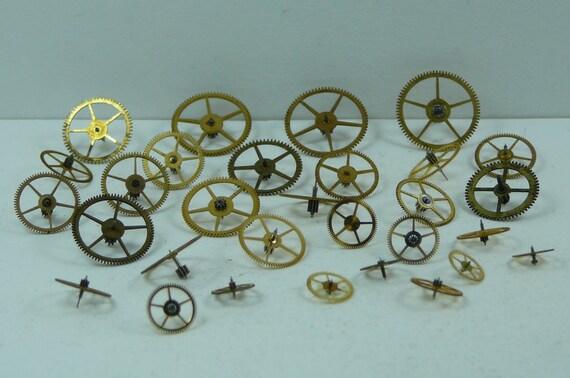 Pocket Watch Wheel Gears.. Assorted Sizes
