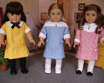 Doll Clothes Pattern  Becca's Choice No 1018