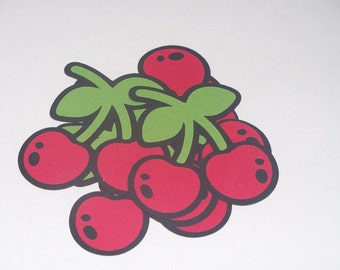 Cherries Set of 6 - 2.5 Inches