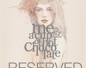 RESERVED LISTING for Simplyhue only - La Vie En Rose