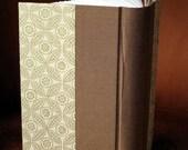 Handbound Rounded Spine Blank Journal