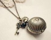 dreamy days - vintage pocket watch necklace