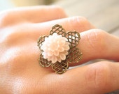 SALE 20% off Pink Peppermint Ring - Simple everyday ring