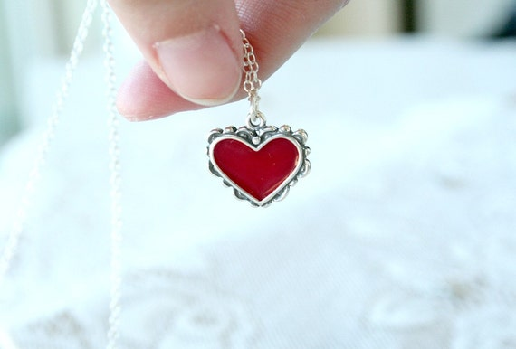 My Sweetheart - A Sterling Silver Necklace