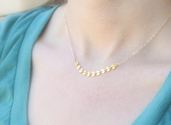 Little Twinkle / 14K Gold Filled / simple everyday necklace