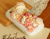 PORTFOLIO - Romantic Princess, Japanese deco, Lolita Hime, Decoden, Macaroon, Whipped cream, Cookies, Kawaii Deco, Sweet deco