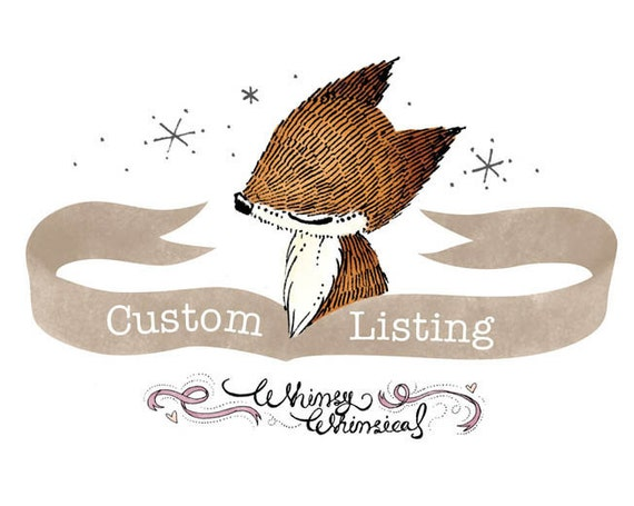RESERVED Listing for Jessa S
