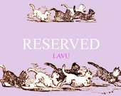 Reserved listing for jenny648