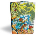 Thundercats Book Cover - Recycled Comic