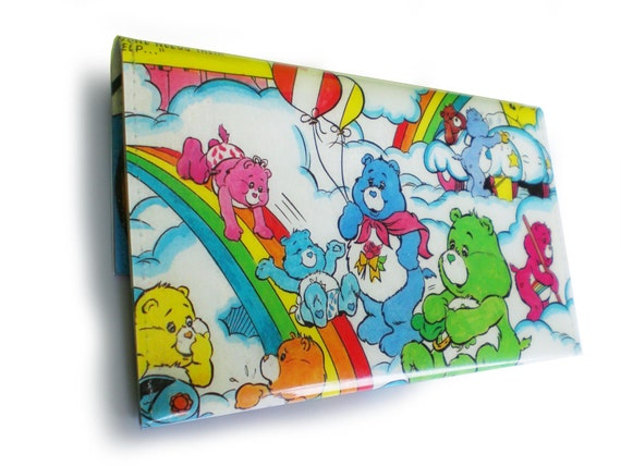 Care Bears Purse - Upcycled Comic