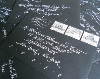 Wedding Calligraphy--Flourished Rachel Font