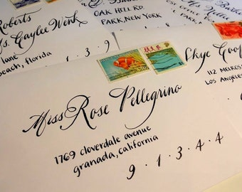Wedding Calligraphy--Lily Font