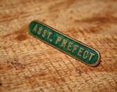 1980s 'Asst. Prefect' Badge