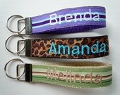 Monogrammed Keychain Wristlet FULLY CUSTOMIZABLE
