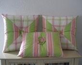 Shabby Chic Handmade Pillows