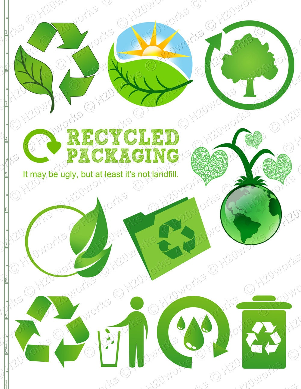 Earth Day Reduce Reuse Recycle