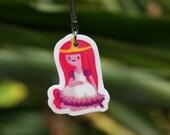Princess Bubblegum key chain