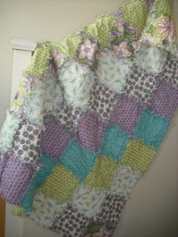 Breeze...... A Spring/Summer Rag Quilt 46X58