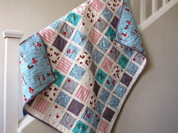 Red Riding Hood......A Fray Edge Quilt