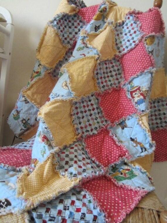 Pirate Pups......A Rag Quilt 38X45