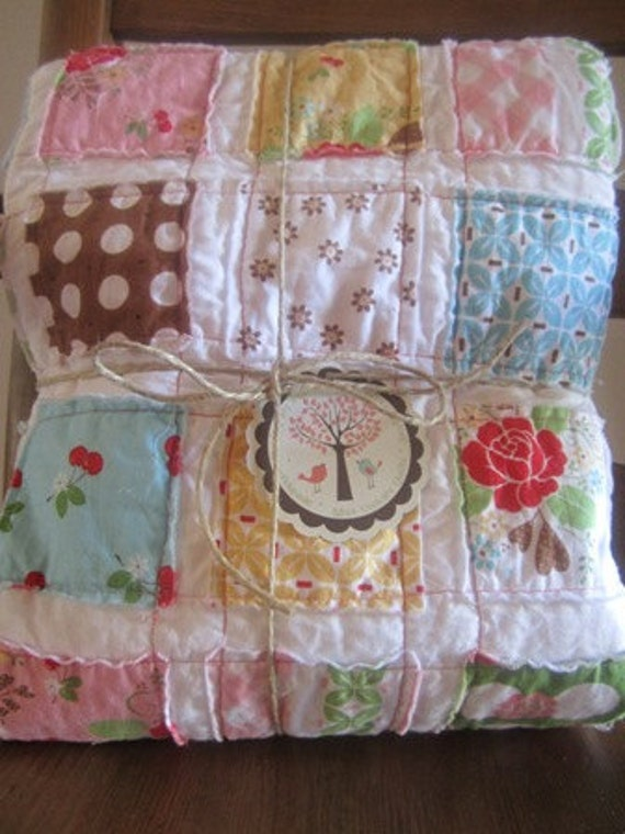 Sew Cherry.......A Fray Edge Quilt