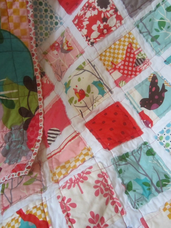 Its A Hoot........A Fray Edge Quilt