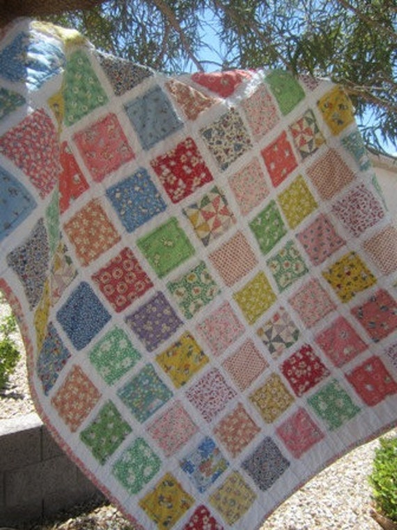 Vintage Baby.............A Fray Edge Quilt