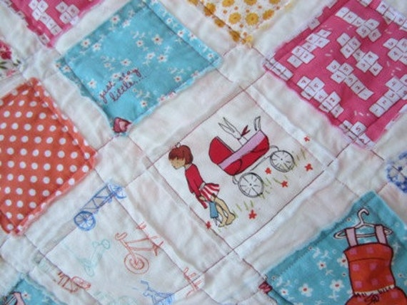 Just Stay Little..............A Fray Edge Quilt