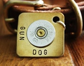 Extra Large Gun Dog Personalized Dog ID Tag