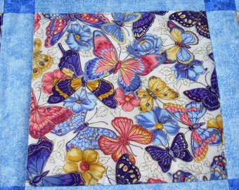 Butterflies in Flight 59x59 Quilt