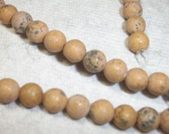grain stone, 6mm, 16-inch strand