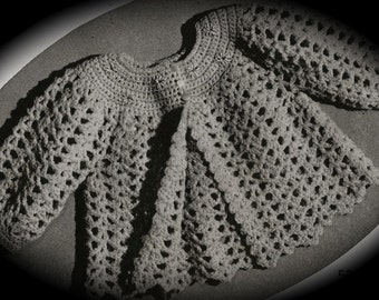 PDF Baby Jackets Vintage Crochet and Knitting Pattern, c. 1943
