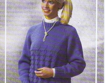 Sweater Pattern Leaflet