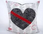 Heart  Novelty Pillow