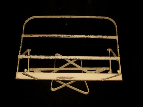 Vintage 1930s Metal Book Stand, Ponten Reading Stand