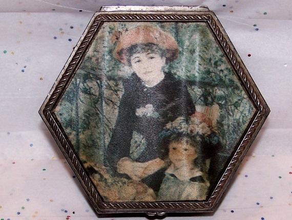 Terrasse Vintage : Vintage Victorian Sur La Terrasse Renoir Red