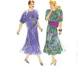 90s Women's Clothing Pattern / 1990s Vintage Sewing Pattern Separates /  Kwik Sew 1980