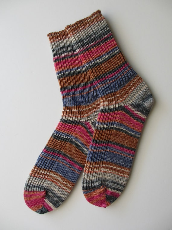 "Women's Socks, Wool  ""Opal Schafpate"""